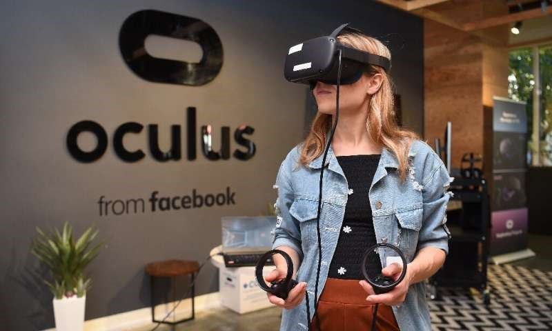 Facebook said the next version of its Oculus virtual reality headgear would be launched at a reduced price