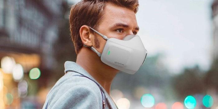LG Unveils Puricare Air Purifier Face Mask