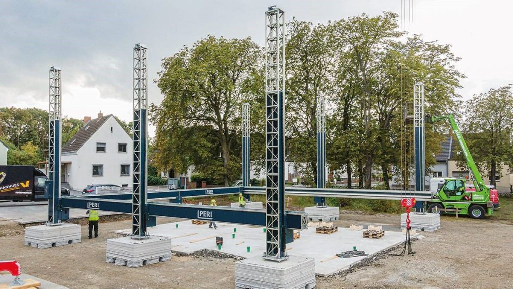 PERI 3d prints the first residential building in Germany